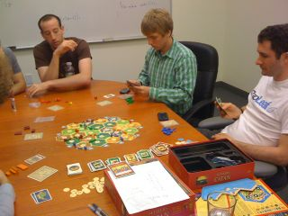 Rapleafers playing Settlers